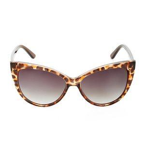 BCBGMAXAZRIA Oversized Cat-Eye Sunglasses